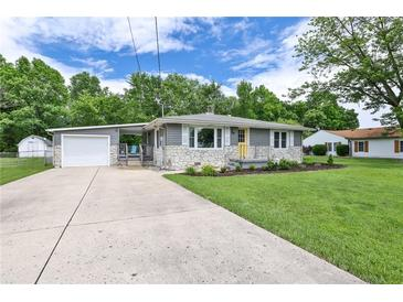 Photo one of 4792 W Lincoln Rd Anderson IN 46011   MLS 21790608