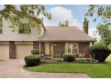Photo one of 2441 Brewster Rd Indianapolis IN 46268 | MLS 21797646