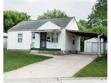 Photo one of 5321 Sutton St Indianapolis IN 46218   MLS 21798833