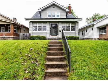 Photo one of 757 N Bancroft St Indianapolis IN 46201 | MLS 21798923