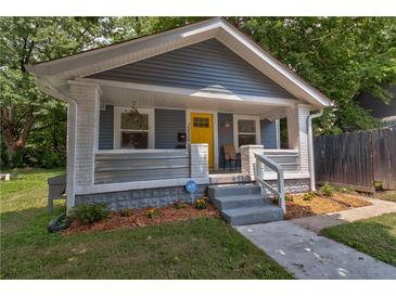 Photo one of 2434 E 13Th St Indianapolis IN 46201 | MLS 21799228