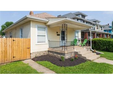 Photo one of 834 N Oxford St Indianapolis IN 46201 | MLS 21799274