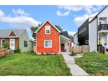 Photo one of 1105 N Hamilton Ave Indianapolis IN 46201 | MLS 21804239