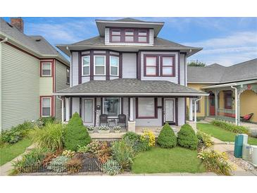 Photo one of 439 Fulton St Indianapolis IN 46202 | MLS 21808337