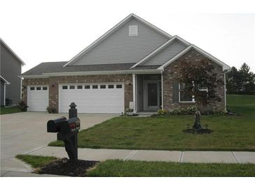 Photo one of 7374 Frolic Dr Brownsburg IN 46112   MLS 21810038