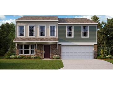 Photo one of 8135 Lythruim Way Plainfield IN 46168 | MLS 21810243