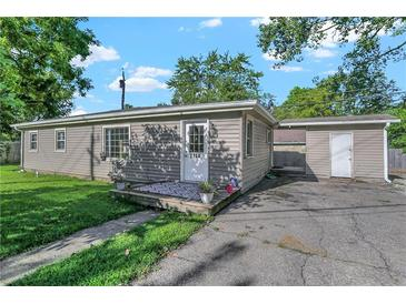 Photo one of 3730 Carson Ave Indianapolis IN 46227 | MLS 21812084
