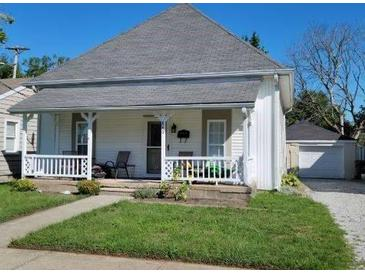 Photo one of 840 W North St Greenfield IN 46140 | MLS 21812211