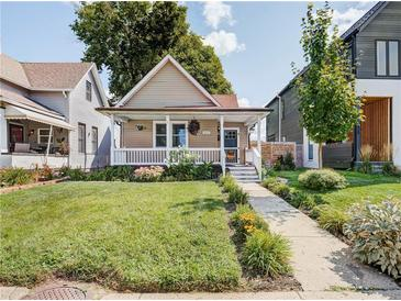 Photo one of 1627 Bellefontaine St Indianapolis IN 46202 | MLS 21812320