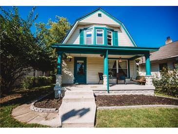 Photo one of 342 N Dequincy St Indianapolis IN 46201   MLS 21812854