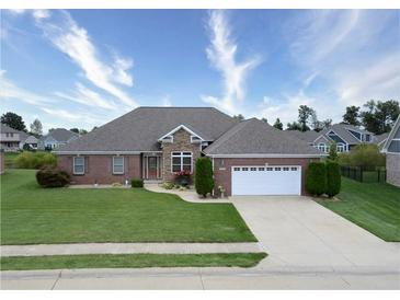 Photo one of 1077 Forest Glen Dr Greenfield IN 46140   MLS 21813228