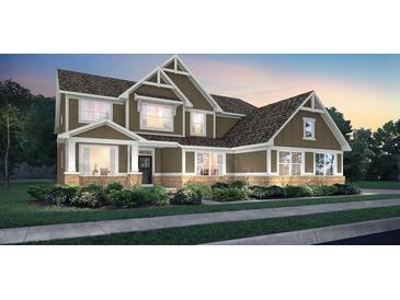 Photo one of 4799 Stanton Ct Zionsville IN 46077   MLS 21815051