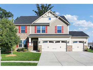 Photo one of 1322 Cloverdale Trce Greenwood IN 46143 | MLS 21815293