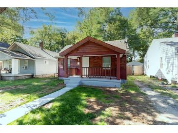 Photo one of 3520 Ralston Ave Indianapolis IN 46218   MLS 21815846