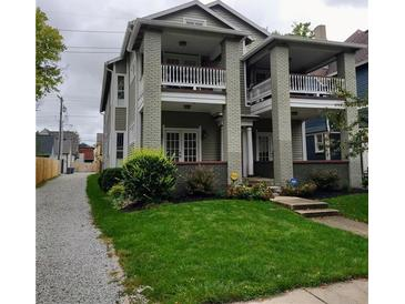 Photo one of 1727 N New Jersey St # D Indianapolis IN 46202   MLS 21816571