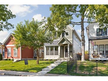 Photo one of 1914 Carrollton Ave Indianapolis IN 46202 | MLS 21816955