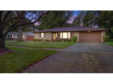 Photo one of 8072 Hoover Ln Indianapolis IN 46260 | MLS 21817222