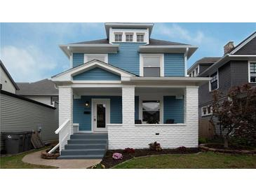 Photo one of 506 Sutherland Ave Indianapolis IN 46205 | MLS 21817759