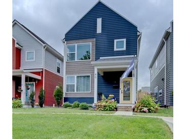 Photo one of 40 Central Greens Indianapolis IN 46222   MLS 21817770