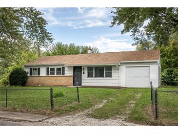 Photo one of 3919 N Webster Ave Indianapolis IN 46226 | MLS 21818165