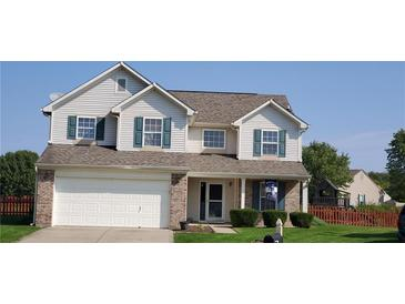 Photo one of 5871 Marco Ct Plainfield IN 46168 | MLS 21818352