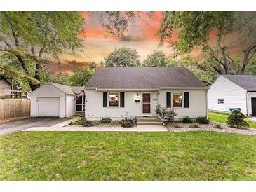 Photo one of 6334 Maple Dr Indianapolis IN 46220 | MLS 21818834