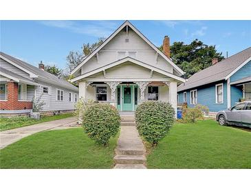 Photo one of 28 N Kenmore Rd Indianapolis IN 46219 | MLS 21819102