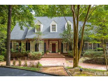 Photo one of 2 Crow Hollow Rd Chapel Hill NC 27514 | MLS 2344974