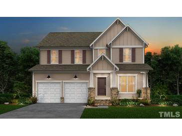 Photo one of 3728 Autumn Creek Dr # Stonecreek Lot 56 Fuquay Varina NC 27526 | MLS 2361035