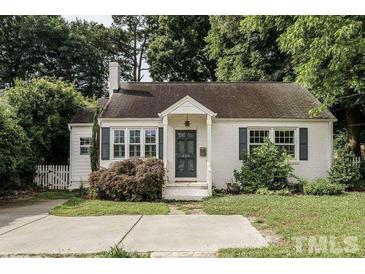 Photo one of 620 E Whitaker Mill Rd Raleigh NC 27608   MLS 2389009