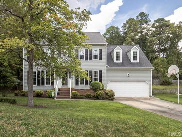 Photo one of 1108 Chimney Hill Dr Apex NC 27502 | MLS 2411903