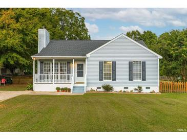 Photo one of 5841 Rocking Chair Dr Youngsville NC 27596 | MLS 2412426
