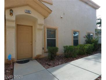 Photo one of 6355 Rusticated Stone Ave # 102 Henderson NV 89011 | MLS 2258752