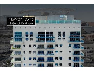 Photo one of 200 Hoover Ave # 2107 Las Vegas NV 89101 | MLS 2260384