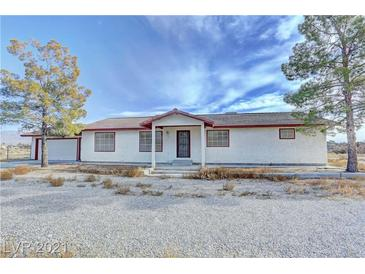 Photo one of 2471 S Red Rock Dr Pahrump NV 89048 | MLS 2260611