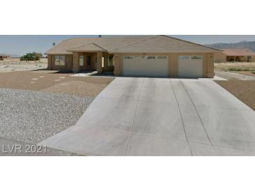 Photo one of 4860 Bakersmill Ct Pahrump NV 89061 | MLS 2261026