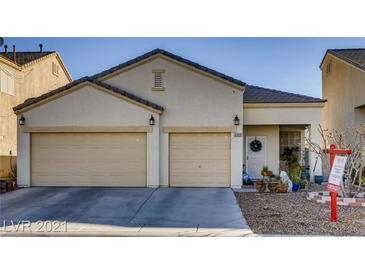 Photo one of 5955 Reflection Point Ct Las Vegas NV 89110   MLS 2261121