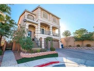 Photo one of 6087 Belvedere Canyon Ave Las Vegas NV 89139   MLS 2266375