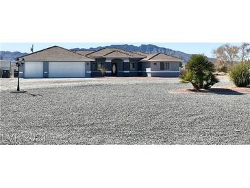 Photo one of 1291 W Marion Miller Pahrump NV 89048 | MLS 2271666