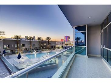 Photo one of 4525 Dean Martin Dr # 306 Las Vegas NV 89103 | MLS 2283149
