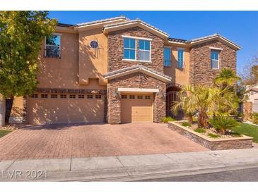 Photo one of 2840 Soaring Peak Ave Henderson NV 89052 | MLS 2283744