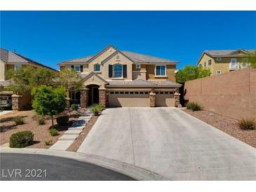 Photo one of 7037 Twin Forks Peak St Las Vegas NV 89166 | MLS 2286922
