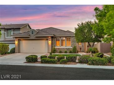 Photo one of 3337 Chesterbrook Ct Las Vegas NV 89135 | MLS 2289209