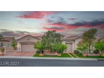 Photo one of 2051 Cambridge Springs Dr Henderson NV 89052 | MLS 2291034