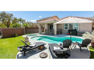 Photo one of 7320 Choctaw Valley Dr Las Vegas NV 89179 | MLS 2299416