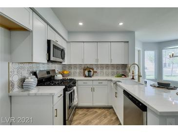 Photo one of 6604 Silvery Ave Las Vegas NV 89108 | MLS 2303777