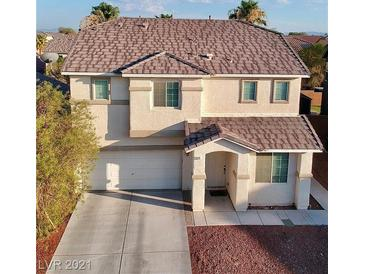 Photo one of 5025 Lone Wolf Ave Las Vegas NV 89131   MLS 2313248