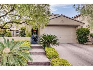 Photo one of 12224 Capilla Real Ave Las Vegas NV 89138 | MLS 2314021
