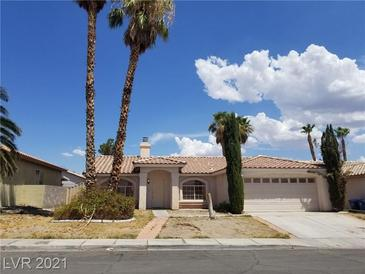 Photo one of 8702 Hawk Canyon St Henderson NV 89074 | MLS 2316234