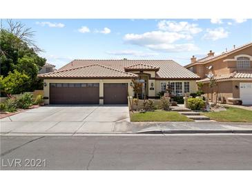 Photo one of 227 Chaco Canyon Dr Henderson NV 89074 | MLS 2316517